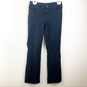 Michael Kors dark wash boot cut jeans size 30